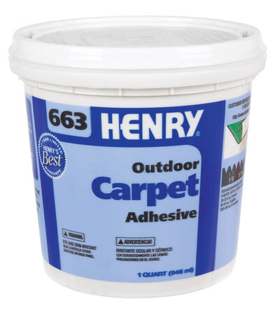 Henry 663 Outdoor Carpet High Strength Paste Adhesive 1 qt.