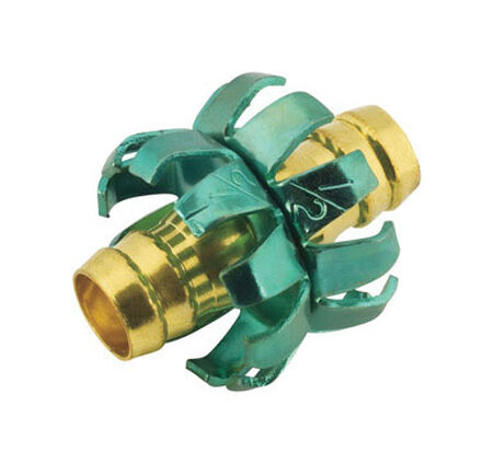 Ace 1/2 in. Metal Clinch Hose Mender Clamp Male Threaded