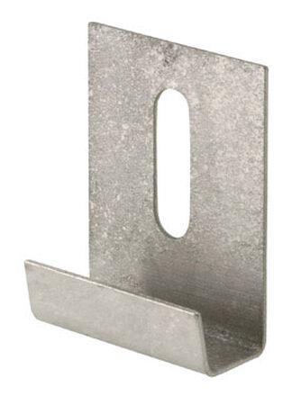 Prime-Line 1.6 oz. Stainless Steel Heavy Duty Mirror Holder Clip 6 pk