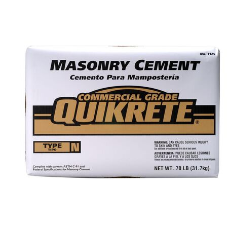 Masonary cement 70.5 lb