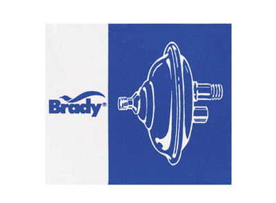 Brady Zinc Air Volume Control 3/8 in.