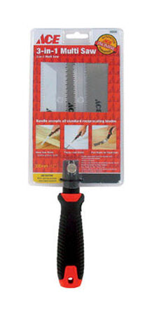 Ace Multi-Use Saw 3 in. L Wood Handle