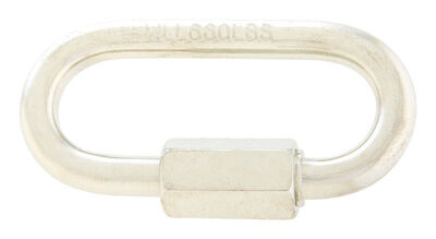 Campbell Chain Zinc Plated Steel Quick Link Silver 660 lb. 2 in. L 1 pk