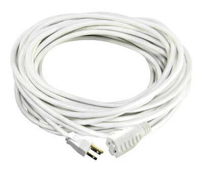 Ace Indoor and Outdoor Extension Cord 16/3 SJTW 100 ft. L White