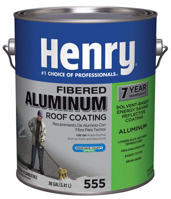 Henry Aluminum Coating Aluminum Roof Coating .90 gal. Aluminum