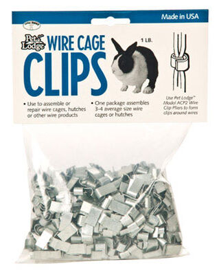 Pet Lodge Cage Clips