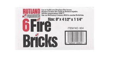 Rutland Ceramic Indoor Fire Brick