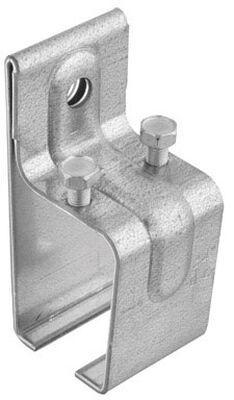 Stanley Steel Single Box Rail Splice Bracket 2-1/8 in. W x 2-1/4 L 1