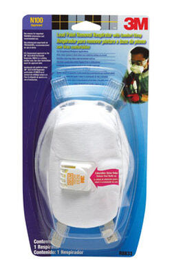 3M Lead Paint Removal Valved Respirator 1 pk