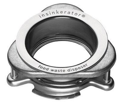 InSinkErator Garbage Disposal Sink Flange Stainless Steel