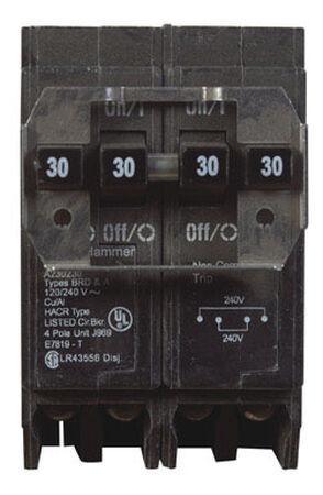 Eaton HomeLine Double Pole 30/30 amps Circuit Breaker