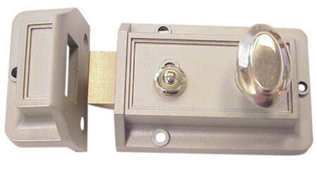 Ace Gold Painted Night Latch 2-1/4 in.