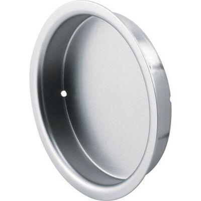 Prime-Line Satin Nickel Side mount Silver Pull Handle