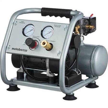 Metabo HPT EC28M Portable 1 Gallon Oil-Free Quiet Air Compressor