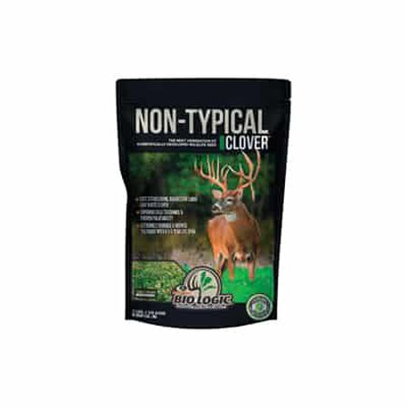 2 lb non-typical clover food plot seed mix - 1/4 acre
