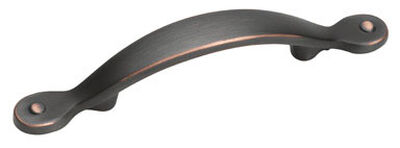 Amerock Inspirations Cabinet Pull 5-5/8 in. L 1 in. Oil-Rubbed Bronze 1 pk