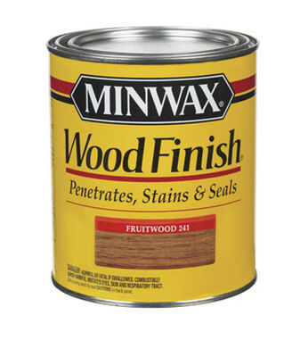 Minwax Wood Finish Transparent Oil-Based Wood Stain Fruitwood 1 qt.