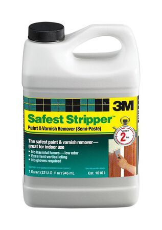 3M Safest Stripper Paint Remover 1 qt.