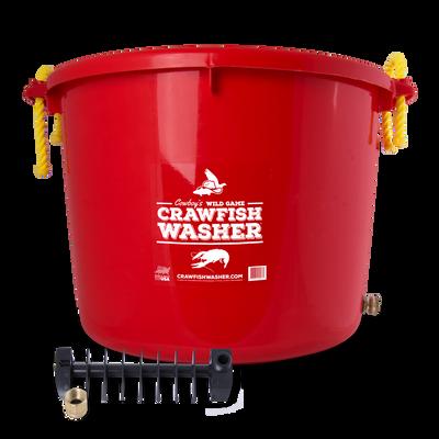 Cowboy's Crawfish Washer Red