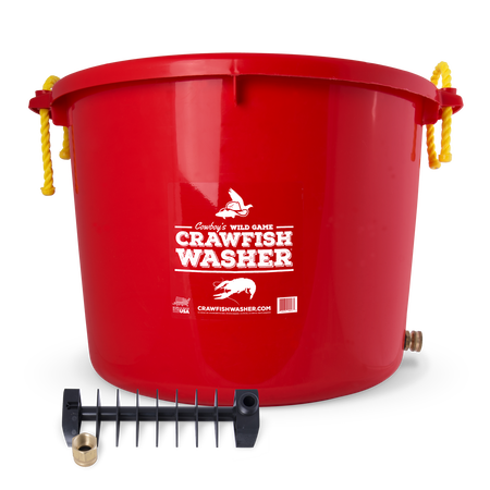 Cowboy's Crawfish Washer Red