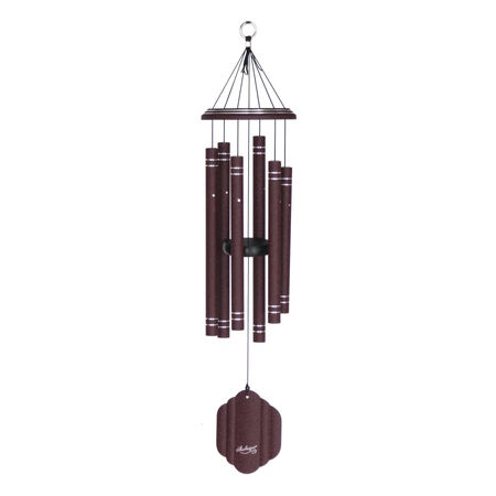 "Arabesque, 29"" Garnet Windchime"