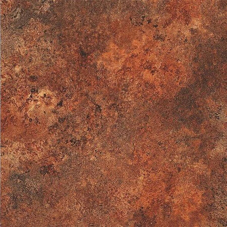Self-Adhesive Floor Tile, 12 in L Tile, 12 in W Tile, 1.22 mm Thick Total, Gray