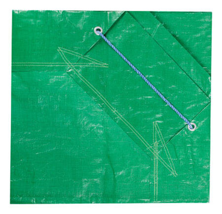 Ace Forest Green Heavy Duty Tarp 7 ft. W x 7 ft. L