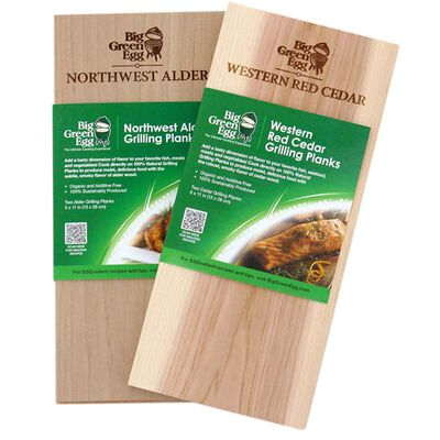 Big Green Egg Grilling Planks Red Cedar