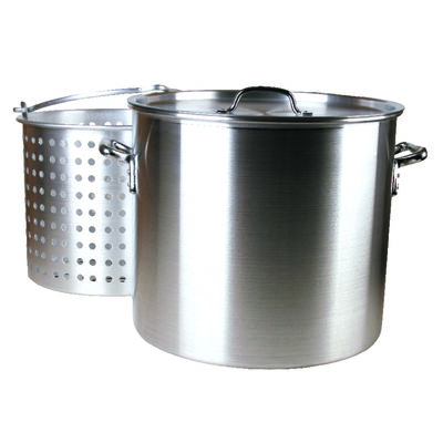 Fleur De Lis Boiling Pot Aluminum 100 qt.