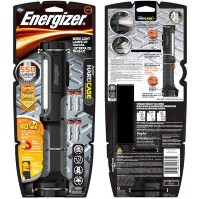 Energizer HardCase 350 lumens LED Work Light Flashlight LED AA Black