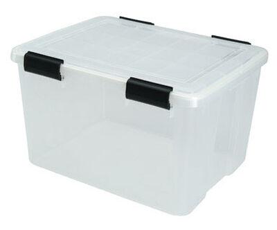 Iris Weathertight Storage Box 11.7 in. H x 15.7 in. W x 46 qt.