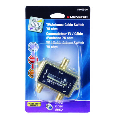Monster Cable TV Antenna Cable Switch 1