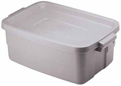 Rubbermaid Roughneck Storage Box 8.7 in. H x 15.9 in. W x 10 gal.
