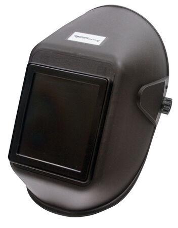 Forney Welding Helmet 4-1/2 in. x 5-1/4 in. Clear Plastic Cover Lens Black Bulk