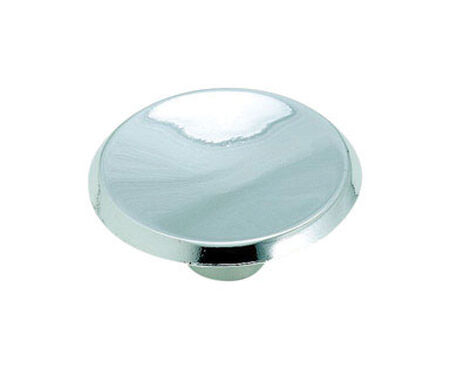 Amerock Allison Round Furniture Knob 1-1/2 in. Dia. 5/8 in. Polished Chrome 10 pk