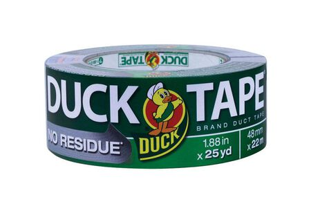 Duck Brand No Residue Duct Tape 1.88 in. W x 25 yd. L Silver