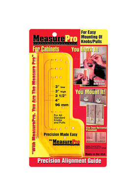 Measure Pro Installation Guide for Cabinets