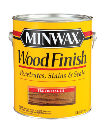 Minwax Wood Finish Transparent Oil-Based Wood Stain Provincial 1 gal.