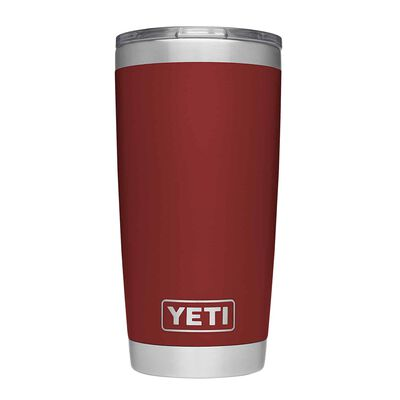 YETI Rambler 20 oz. Insulated Tumbler Brick Red