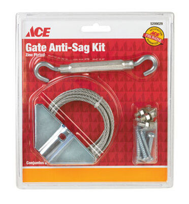Ace Anti-Sag Gate Kit Zinc Zinc