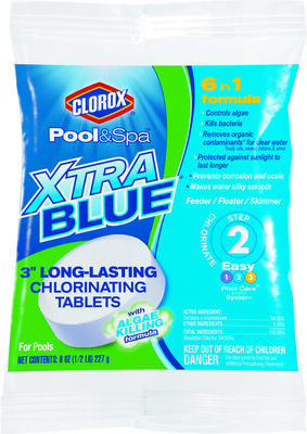 "Clorox XtraBlue 3"" Long Lastin"