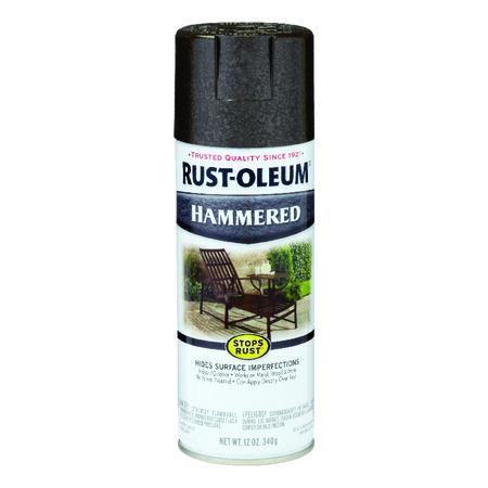 Rust-Oleum Stops Rust Hammered Dark Bronze Spray Paint 12 oz.