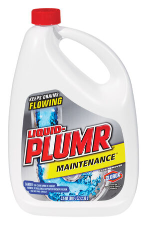 Liquid-Plumr Maintenance Clog Remover Liquid 80 oz.