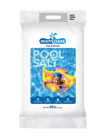 Ready Clear Splash Ready Pool Salt 40 lb.