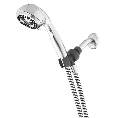 Waterpik Height Select Chrome 7 settings Adjustable Showerhead 1.8 gpm