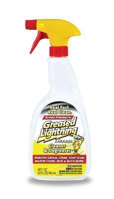 Greased Lightning Lemon Scent Cleaner and Degreaser 32 oz. Trigger Spray Bottle