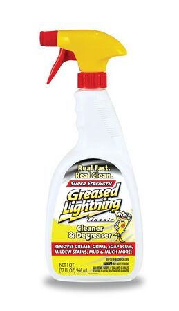 Greased Lightning Lemon Scent Cleaner and Degreaser 32 oz. Trigger Spray Bottle