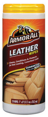 Armor All Leather Cleaner 20 wipes