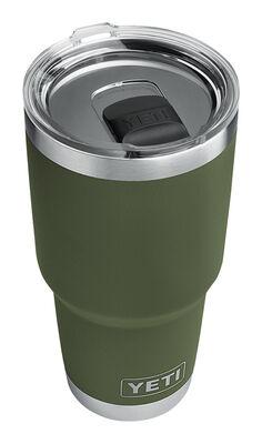 YETI Rambler Travel Insulated Tumbler w/Lid 1 pk Olive Green 30 oz.