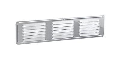 Air Vent Undereave Vent 16 in. x 4 in. 28 sq. in. 15 in. x 3 in. Aluminum Mill